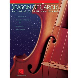 Hal-Leonard-Season-Of-Carols--Easy-Solo-Violin-And-Piano--Standard