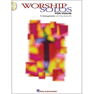 Hal-Leonard-Worship-Solos-For-Violin-Book-CD-Standard