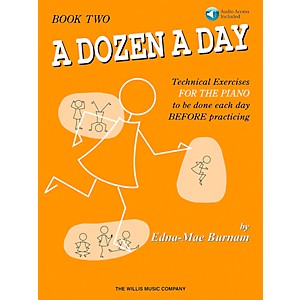 Willis-Music-A-Dozen-A-Day---Book-2-Book-CD-Standard