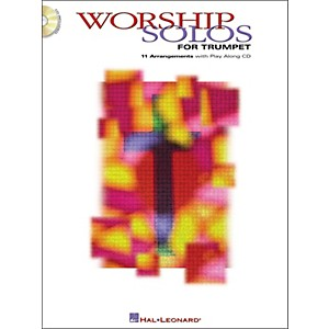 Hal-Leonard-Worship-Solos-For-Trumpet-Book-CD-Standard