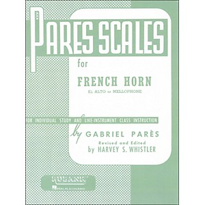 Hal-Leonard-Rubank-Pares-Scales-For-French-Horn--E-Flat-Alto-Or-Mellophone-Standard