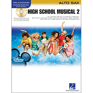 Hal-Leonard-High-School-Musical-2-For-Alto-Sax-Book-CD-Standard