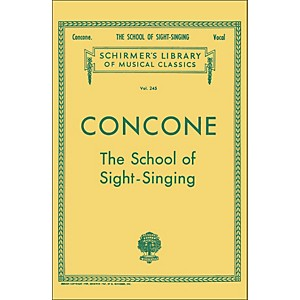 G--Schirmer-School-Of-Sight-Singing---Vocal-Practical-Method-For-Young-Beginners-By-Concone-Standard