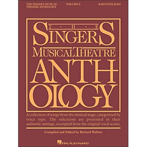 Hal-Leonard-Singer-s-Musical-Theatre-Anthology-For-Baritone---Bass-Volume-5-Standard