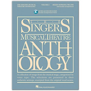 Hal-Leonard-Singer-s-Musical-Theatre-Anthology-Mezzo-Soprano---Belter-Volume-3-Book-2CD-s-Standard
