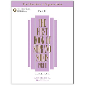 G--Schirmer-First-Book-Of-Soprano-Solos-Part-2-Book-2CD-s-Standard