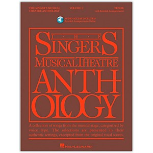 Hal-Leonard-Singer-s-Musical-Theatre-Anthology-For-Tenor-Voice-Volume-1-Book-2CD-s-Standard