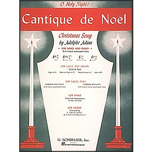 G--Schirmer-Cantique-De-Noel--O-Holy-Night--In-B-Flat-For-Low-Voice-By-Adam---Deis-Standard