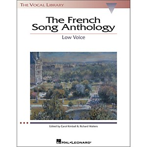 Hal-Leonard-The-French-Song-Anthology-For-Low-Voice--The-Vocal-Library-Series--Standard