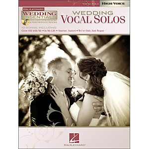 Hal-Leonard-Wedding-Vocal-Solos---Wedding-Essentials-Series-For-High-Voice-Book-CD-Standard