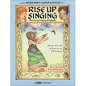 Hal-Leonard-Rise-Up-Singing--Large-Print-Edition--With-Spiral-Binding-Standard