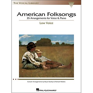 Hal-Leonard-American-Folksongs-For-Low-Voice--The-Vocal-Library-Series--Standard