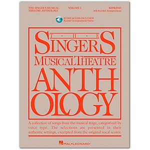 Hal-Leonard-Singer-s-Musical-Theatre-Anthology-For-Soprano-Volume-1-Book-2CD-s-Standard