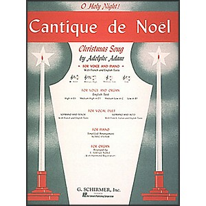 G--Schirmer-Cantique-De-Noel--O-Holy-Night--In-E-Flat-High-Voice-By-Adam---Deis-Standard