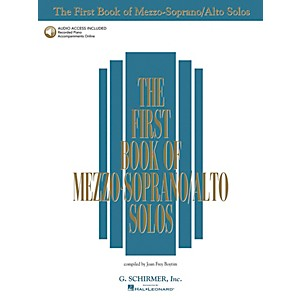 G--Schirmer-First-Book-Of-Mezzo-Soprano---Alto-Solos-Book-2CD-Package-Standard
