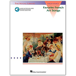 Hal-Leonard-Favorite-French-Art-Songs-For-High-Voice-Book-CD-Standard