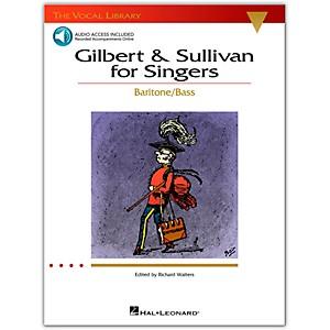Hal-Leonard-Gilbert---Sullivan-For-Singers--The-Vocal-Library-Series--For-Baritone---Bass-Book-CD-Standard