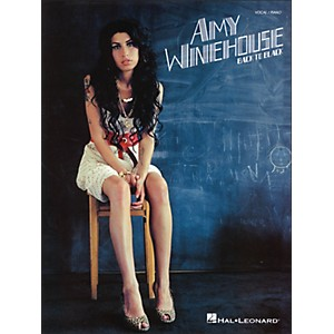 Hal-Leonard-Amy-Winehouse---Back-To-Black--Vocal---Piano--Standard