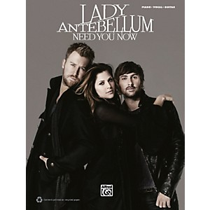 Hal-Leonard-Lady-Antebellum-Need-You-Now-PVC-Book-Standard