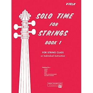 Alfred-Solo-Time-for-Strings-Book-1-Viola-Standard