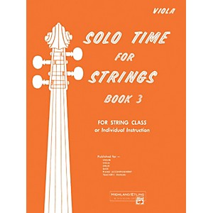 Alfred-Solo-Time-for-Strings-Book-3-Viola-Standard