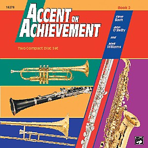 Alfred-Accent-on-Achievement-Book-2-2-CD-Set-Standard