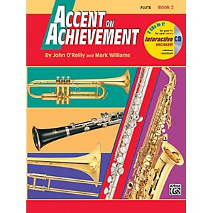 Alfred-Accent-on-Achievement-Book-2-Flute-Book---CD-Standard