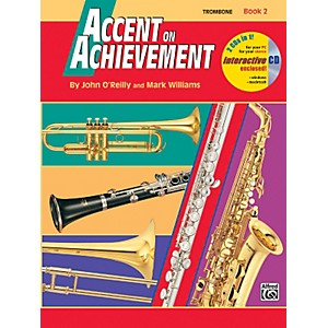 Alfred-Accent-on-Achievement-Book-2-Trombone-Book---CD-Standard