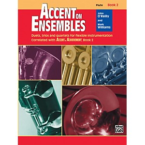 Alfred-Accent-on-Ensembles-Book-2-Flute-Standard