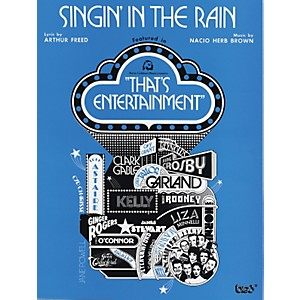 Alfred-Singin--in-the-Rain-Piano-Vocal-Chords-Standard