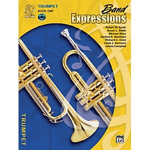 Alfred-Band-Expressions-Book-One-Student-Edition-Trumpet-Book---CD-Standard