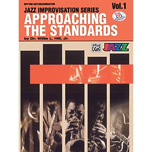 Alfred-Approaching-the-Standards-Volume-1-Rhythm-Section---Conductor-Book---CD-Standard