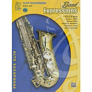 Alfred-Band-Expressions-Book-One-Student-Edition-Alto-Saxophone-Book---CD-Standard