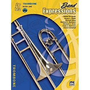 Alfred-Band-Expressions-Book-One-Student-Edition-Trombone-Book---CD-Standard
