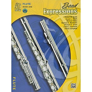 Alfred-Band-Expressions-Book-One-Student-Edition-Flute-Book---CD-Standard