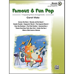 Alfred-Famous---Fun-Pop-Book-5-Standard