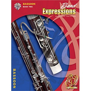 Alfred-Band-Expressions-Book-Two-Student-Edition-Bassoon-Book---CD-Standard