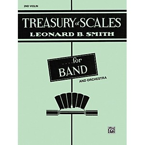 Alfred-Treasury-of-Scales-for-Band-and-Orchestra-2nd-Violin-Standard