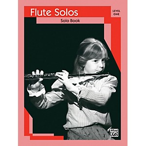 Alfred-Flute-Solos-Level-I-Solo-Book-Standard