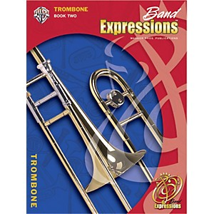 Alfred-Band-Expressions-Book-Two-Student-Edition-Trombone-Book---CD-Standard