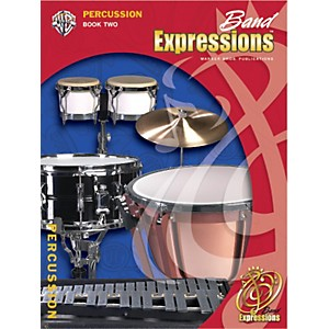 Alfred-Band-Expressions-Book-Two-Student-Edition-Percussion-Book---CD-Standard