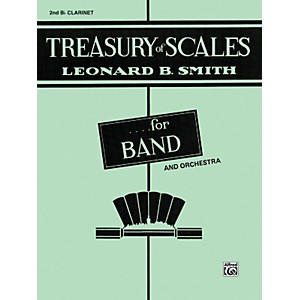 Alfred-Treasury-of-Scales-for-Band-and-Orchestra-2nd-B-Flat-Clarinet-Standard