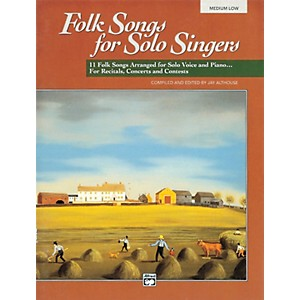 Alfred-Folk-Songs-for-Solo-Singers-Vol--1-Book--Medium-Low--Standard