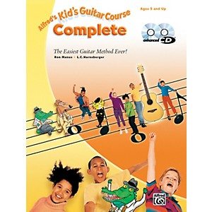 Alfred-Kid-s-Guitar-Course-Complete-Book-Enhanced-CD---DVD-Standard