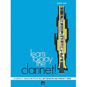 Alfred-Learn-to-Play-Clarinet--Book-2-Standard