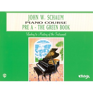 Alfred-John-W--Schaum-Piano-Course-Pre-A-The-Green-Book-Pre-A-The-Green-Book-Standard