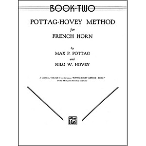 Alfred-Pottag-Hovey-Method-for-French-Horn-Book-II-Standard