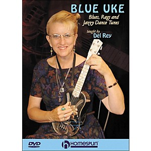 Homespun-Blue-Uke--Blues--Rags-And-Jazzy-Dance-Tunes--DVD--Standard