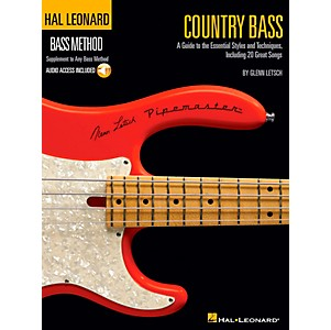 Hal-Leonard-Country-Bass---Hal-Leonard-Bass-Method-Supplement-To-Any-Bass-Method-Book-CD-Standard