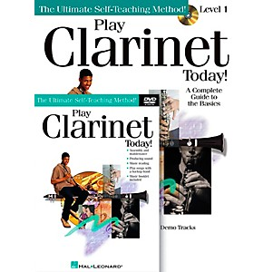Hal-Leonard-Play-Clarinet-Today---Beginner-s-Pack---Includes-Book-CD-DVD-Standard